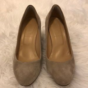 J.Crew Suede Wedges